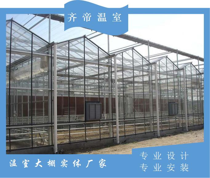 江西玻璃温室 生态温室建设