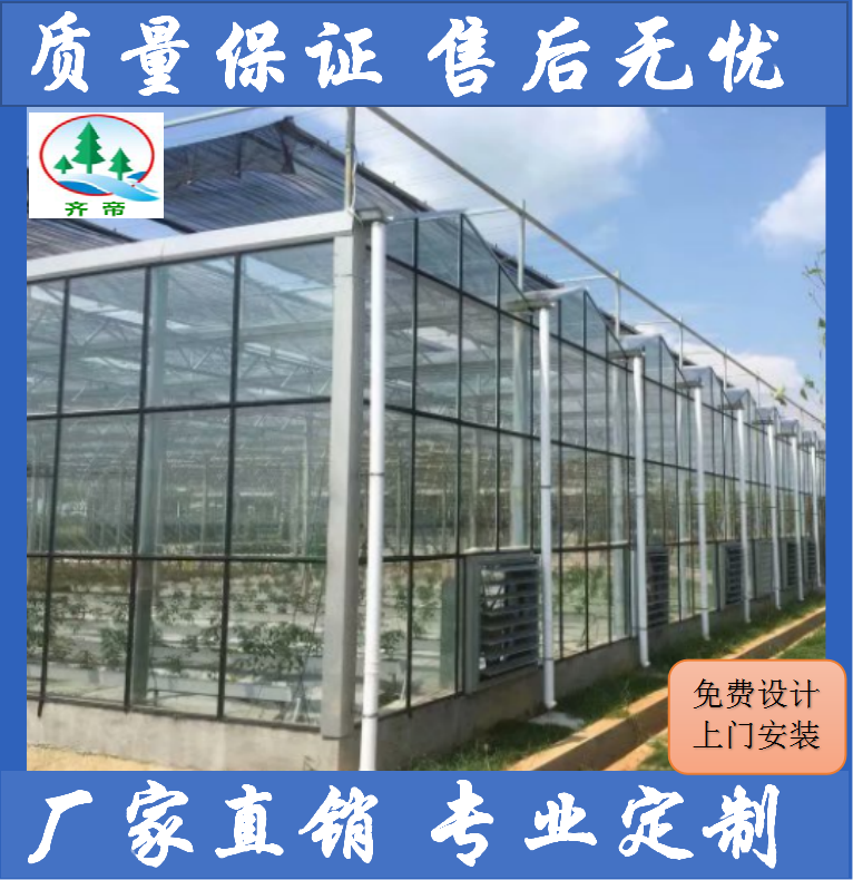 南昌青山湖温室大棚 大棚建造 设计+安装+施工+维护一条龙