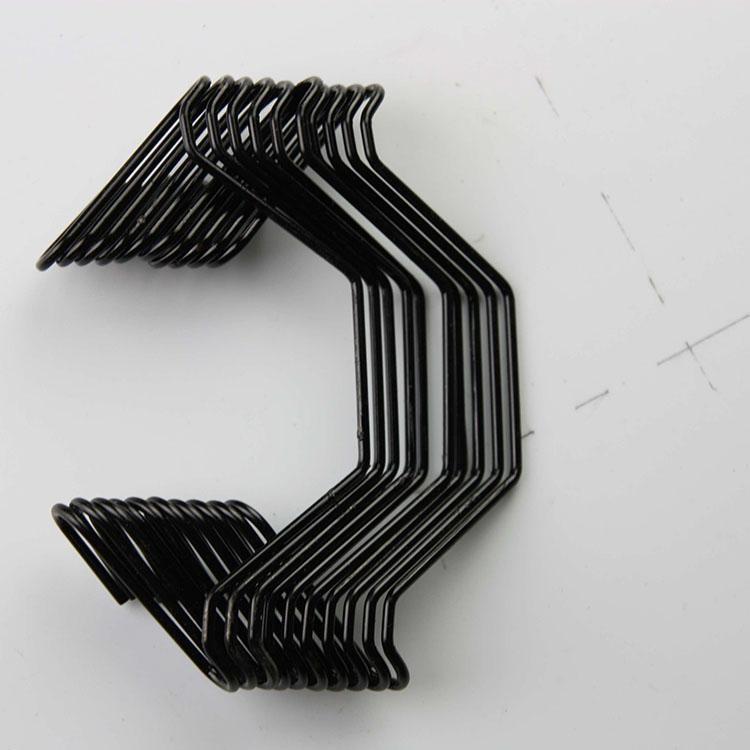温室大棚引线簧 八字簧 压膜线单挂钩 双挂钩卡膜簧
